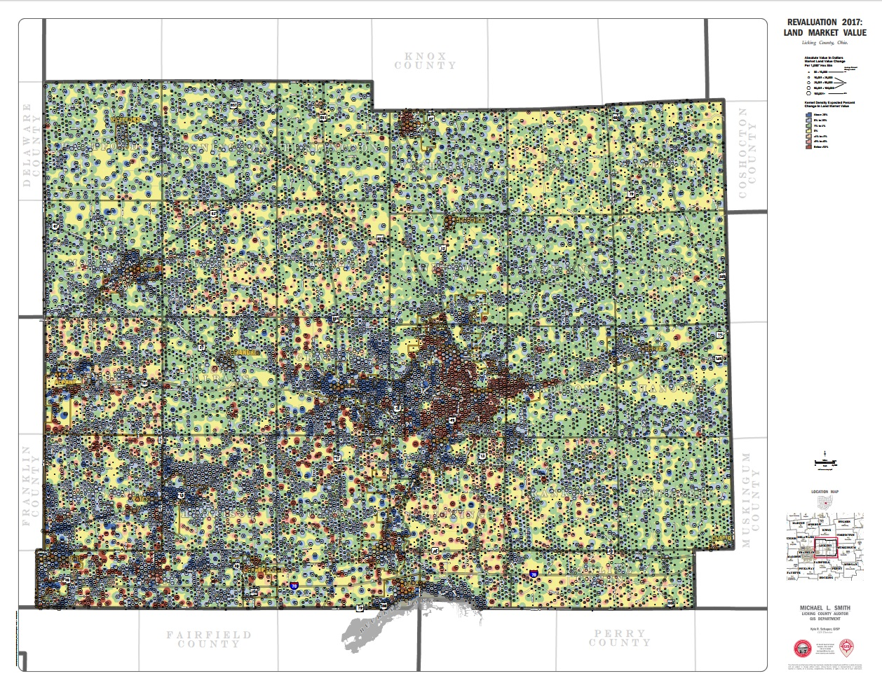 2017 Ohio Gis Conference Map Gallery